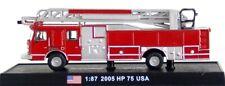 Ho Scale - Gmc E-1 Hp75 Ladder Truck, United States, 2005, Amc-Acsf42