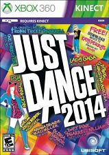NEW Just Dance 2014 Xbox 360 FAST FREE SHIPPING ubisoft kinect party game