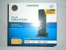 Linksys CM3024 High Speed DOCSIS 3.0 - 24 x 8 Cable Modem -