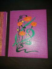 Colette / Belle reliure mosaïquée moderne signée / emboîtage .+ portefeuille