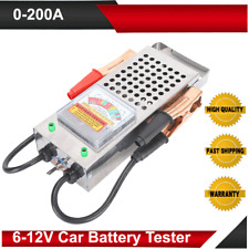 Automotive Car Battery Tester Charging Load Test Analyzer Power Meter 0‑200AMP