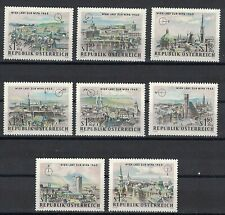 Austria:1964 Sc#B306-B313 Mnh Vienna Intl. Phil. Exhib. (Wipa 1965)