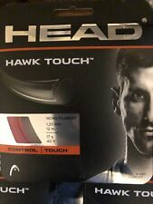 Head Hawk Touch 17g Tennis String Red - 3 sets
