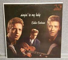 Singin' To My Baby by Eddie Cochran Original Liberty LRP 3061 Promo RARE