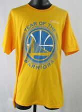 Golden State Warriors NBA Boys Year of the Finals Yellow Short Sleeve Shirt