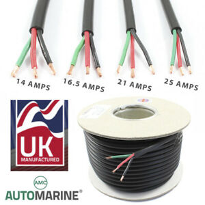 2 Core Flat Twin Low voltage Automotive 12v 24v 0.65mm 1mm 2mm cable