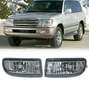 Front Bumper Fog Light Lamp Housing For Toyota Land Cruiser J100 J105 1998-2007