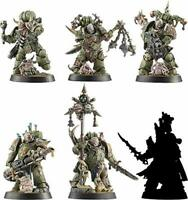 Space Marine Heroes Series 3 6 Unique Heroes Set Box Warhamm Limited Death Guard