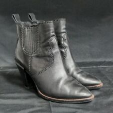 Coach Women's Black Heeled Ankle Boots Size 6.5