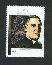CANADIAN POSTAGE - CHARLES-EMILE GADBOIS 1906-1981   1997  45 CENTS STAMP CANADA