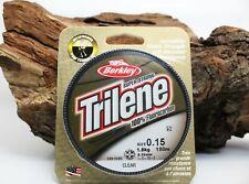 Berkley Trilene 100% Fluorocarbon 0,15mm 1,8kg 150m Clear Raubfischangeln NEW