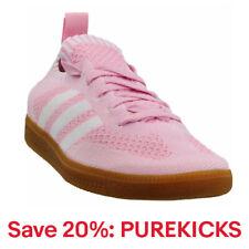 Adidas Samba Primeknit Tenis Casuales-Rosa-Para Mujer