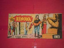 KINOWA STRISCIA DARDO 1°SERIE -I°-N° 21  -L 2-PRIMA ESSEGESSE-STELLA D'ORO 1958