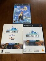 Final Fantasy XI Online PlayStation 2 With Start Up Disc 3.0 and Final Fantasy X