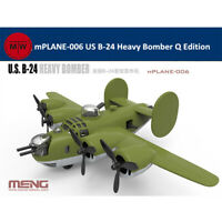 Meng mPLANE-006 US B-24 Heavy Bomber Q Edition Assembly Model Kit
