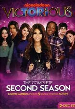 Victorious: The Complete Second Season [2 Discs] (2012, DVD NEUF)