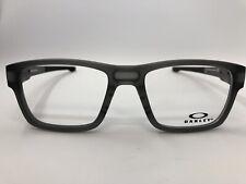 New Oakley Splinter Ox8077-0252 Satin Grey Smoke 52.18.137 Eyeglasses Frames