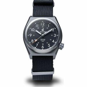 BOLDR Venture Titanium Automatic Watch