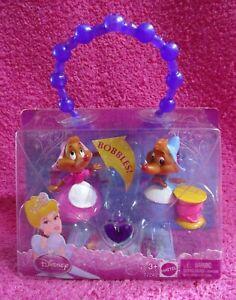 Mattel Disney Princess Cinderella Girl Mice Figure Bracelet Set T7243 2010 New