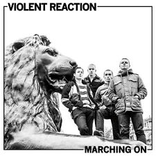 "VIOLENT REACTION - MARCHING ON 12"" LP GREEN VINYL REVELATION RECORDS THE FLEX"