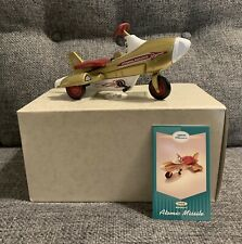 Hallmark Kiddie Car Classic 1958 Murray Atomic Missle With Box And Card