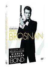 JAMES BOND 007 PIERCE BROSNAN DVD NUEVO ( SIN ABRIR ) COLECCION 4 PELICULAS