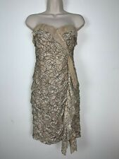 Excellent BCBGMAXAZRIA Fashion Dress Size 8