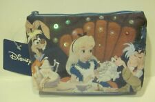Disney Alice in Wonderland Mad Tea party Cosmetic bag w/ Tags & Embellisments