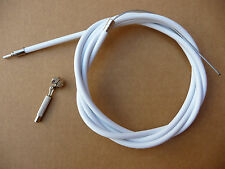 Sturmey Archer Type Inner Gear Wire Cable with Outer WHITE casing   new