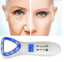Vibrazione snellente Viso Massaggiatore a bacchetta Barra di bellezza del viso occhi cura della pelle Roller UK