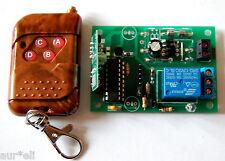 Telemando Emisor-receptor de 1 canal para 12V (24V consultar)