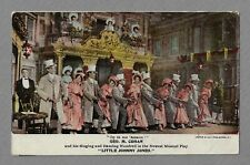 "George M. Cohan ""LITTLE JOHNNY JONES"" Ethel Levey 1905 Broadway Postcard"