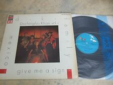 "Dschinghis Khan Vol.1 KOREA EP/SINGLE 12"" 4TRACK MEXICO/GIVE ME A SIGN 45RPM"