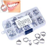 Dental Orthodontic 1st Molar Bands Prewelded / Roth.022 Buccal Tube Conv U/1 L/1
