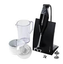 bamix Immersion Blender & Processor- Swissline M150 Black