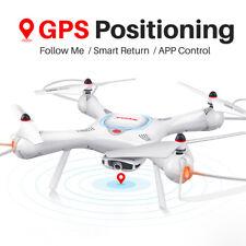 RC Quadcopter Drone Upgrade Syma X25PRO GPS Follow Me FPV Selfie 720p Camera