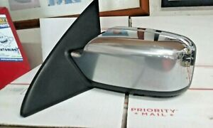 2007-2010 Lincoln MKZ Driver Side LEFT View Power Door Mirror Chrome