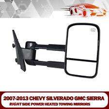 Towing Mirrors Fits 07-13 Chevy Silverado&GMC Sierra 1500/2500/3500 Power Heated