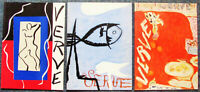 MATISSE -  THREE (3) ORIGINAL FRONT COVERS  - 1937, & 38 - FREE SHIP IN US !!!