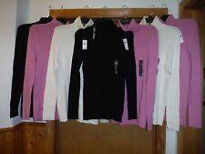 Women's Sweaters Turtleneck GAP XL,L,M,Black,Lavender,Ivory,90% cotton 7% nylon