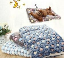 New listing Soft Flannel Thickened Pet Soft Fleece Pad Pet Blanket Bed Mat For Puppy Dog Cat