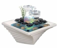 🎄 🌲Best Gift Glass Color Small indoor water feature Patio living room