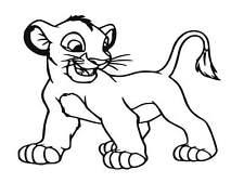 Lion King vinyl Decal / Sticker