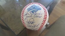 1993 World Series Team Signed Baseball, total of 33 Autographs