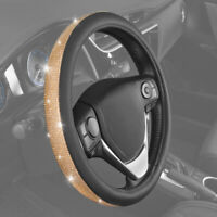 W Symbol on Synthetic Leather BDK DC Comics Wonder Woman Steering Wheel Cover