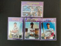 2020 Topps Heritage Chrome PURPLE REFRACTORS SP U You Pick Complete your set HOT