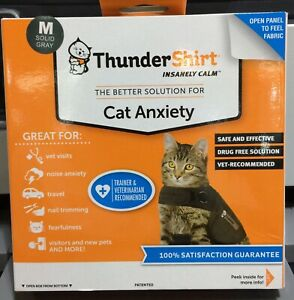 """NEW THUNDERSHIRT FOR CATS ANXIETY CALMING AID SMALL MEDIUM LARGE """"CLOSE OUT"""""""