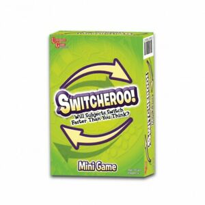 University Games Switcheroo mini game age 10+ players 2+ NEW/SEALED