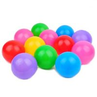100pcs Children Plastic Play Balls for Ball Pits Pool Castle Multicolour Toys