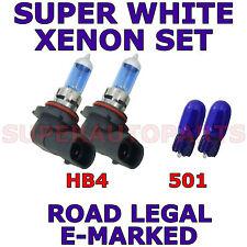 ADATTO A NISSAN PRIMERA 1999-2001 SET HB4 501 XENON LAMPADINE